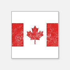 Distressed Canada Flag Sticker