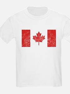 Distressed Canada Flag T-Shirt