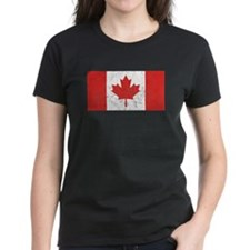 Distressed Canada Flag T-Shirt