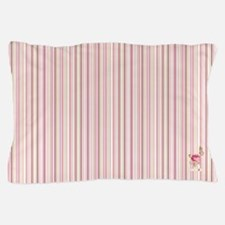 Madame Butterfly Stripes Pillow Case