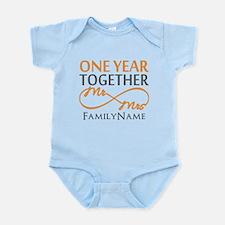 Gift For 1st Wedding Anniversary Infant Bodysuit