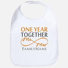 Gift For 1st Wedding Anniversary Bib