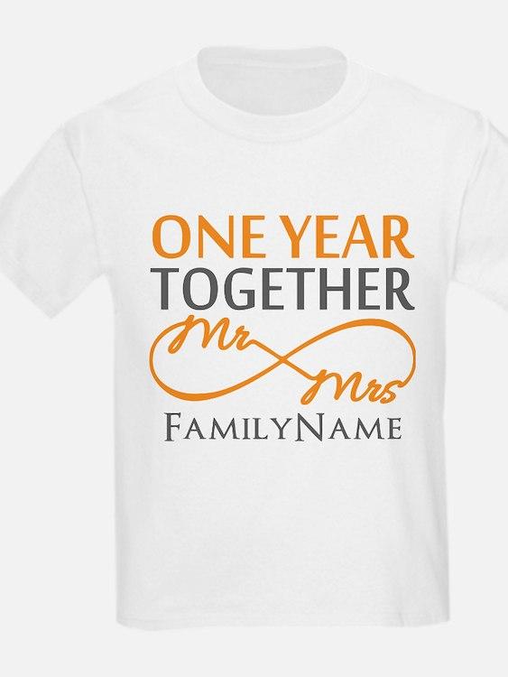 Gift For 1st Wedding Anniversar T-Shirt