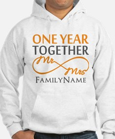 Gift For 1st Wedding Anniversary Hoodie