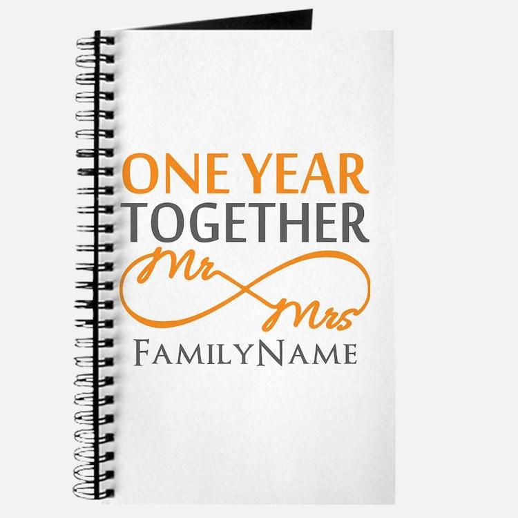 Gift For 1st Wedding Anniversary Journal