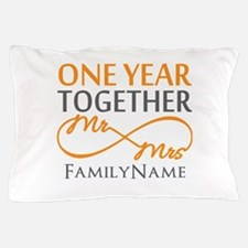 Gift For 1st Wedding Anniversary Pillow Case