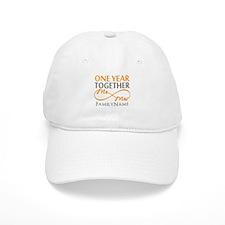 1st anniversary Baseball Cap