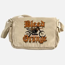 BleedOrange Messenger Bag