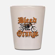 BleedOrange Shot Glass