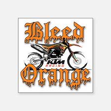 BleedOrange Sticker