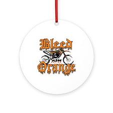 BleedOrange Ornament (Round)