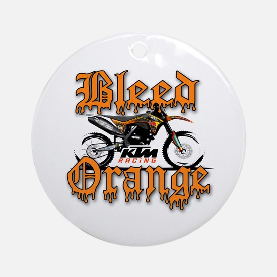 BleedOrange Ornament (Round)