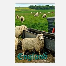 England Countryside Postcards (package Of 8)