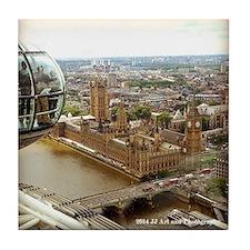 Big Ben From Eye Tile Coaster