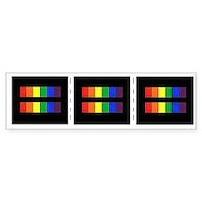 Cute Rainbow pride Bumper Sticker