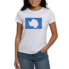 Distressed Antarctica Flag T-Shirt