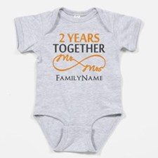 Gift For 2nd Wedding Anniversary Baby Bodysuit