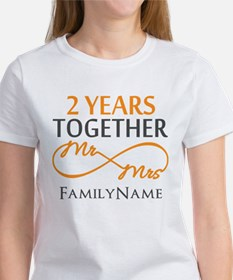 Gift For 2nd Wedding Anniversary Women's T-Shirt