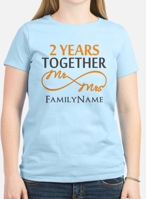 Gift For 2nd Wedding Anniver T-Shirt