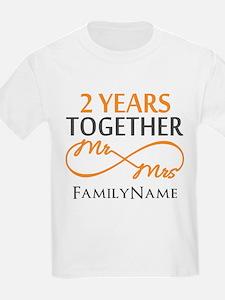Gift For 2nd Wedding Anniversar T-Shirt