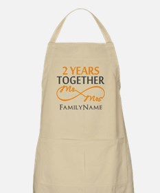 Gift For 2nd Wedding Anniversary Apron
