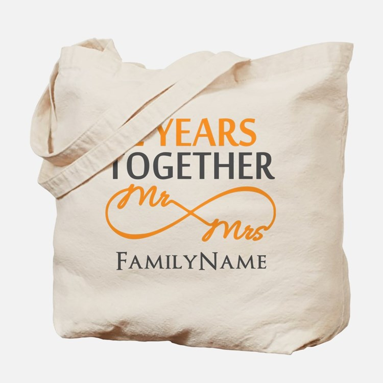 Gift For 2nd Wedding Anniversary Tote Bag