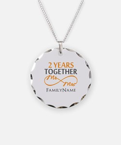Gift For 2nd Wedding Anniver Necklace