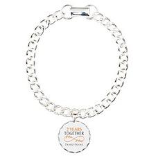 Gift For 2nd Wedding Ann Bracelet