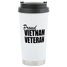 Proud Vietnam Veteran Travel Mug