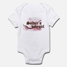 Soldier's Babygirl Infant Bodysuit