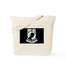 POW - MIA Flag Tote Bag