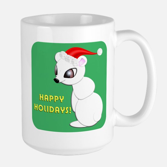 Polar Bear Christmas Mug, Large