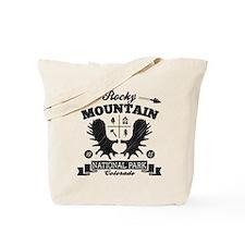 Rocky Mountain Camper Tote Bag