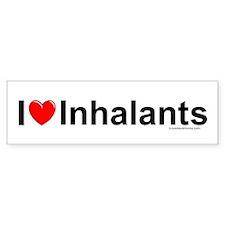 Inhalants Bumper Sticker