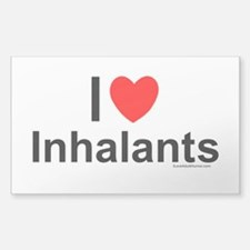 Inhalants Sticker (Rectangle)