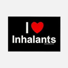 Inhalants Rectangle Magnet