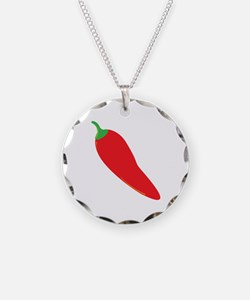 Red Chili Pepper Necklace