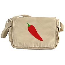 Red Chili Pepper Messenger Bag