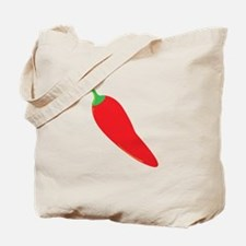 Red Chili Pepper Tote Bag