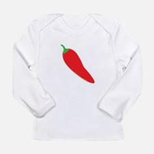 Red Chili Pepper Long Sleeve T-Shirt