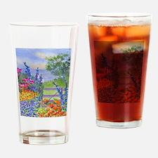 Celia's Gardem Drinking Glass