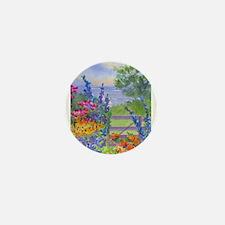 Celia's Gardem Mini Button