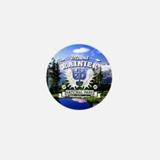 Mount Rainier Camper Mini Button