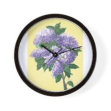 LILAC SPRIG 4 7 14 Wall Clock