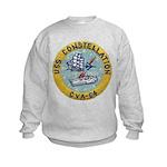 USS CONSTELLATION Kids Sweatshirt