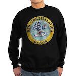 USS CONSTELLATION Sweatshirt (dark)