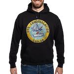 USS CONSTELLATION Hoodie (dark)