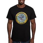 USS CONSTELLATION Men's Fitted T-Shirt (dark)