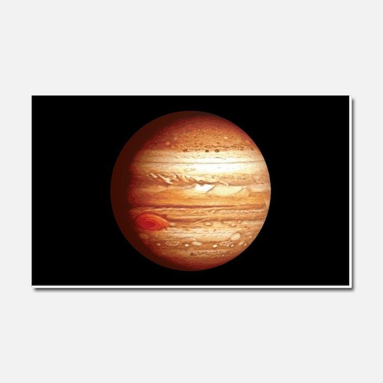 Planet Jupiter Car Magnet 20 x 12