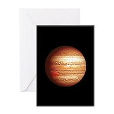 Planet Jupiter Greeting Cards